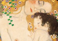 klimt-gustav-mutter-und-kind